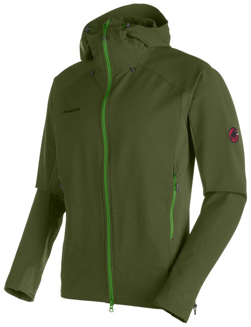 Klettergurt Mammut Größentabelle : Mammut base jump so hooded jacket men seaweed campz
